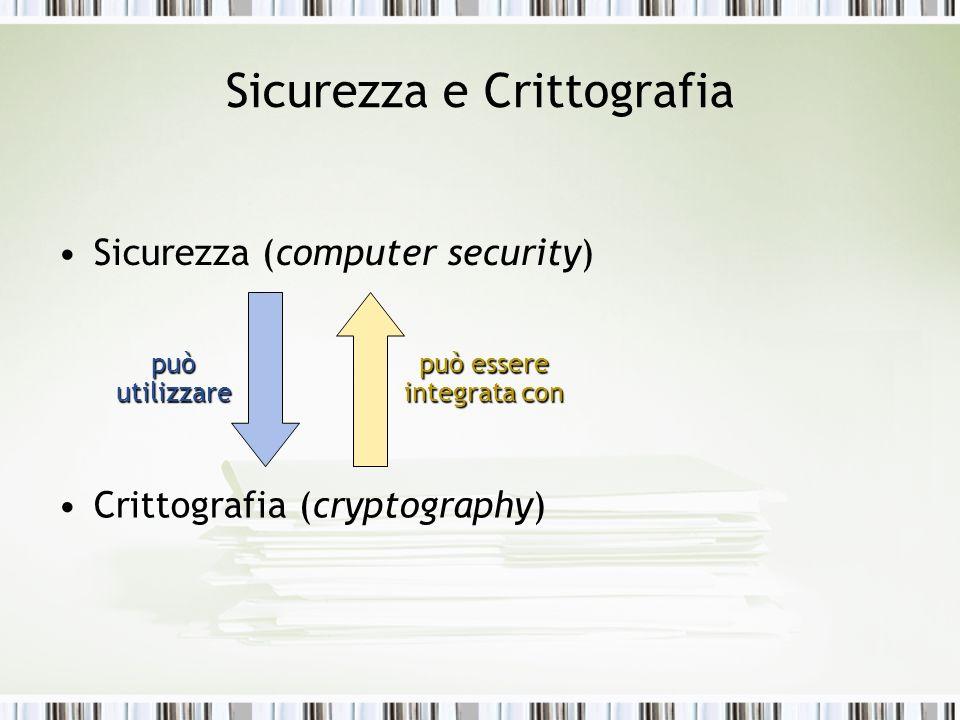 Sicurezza e Crittografia