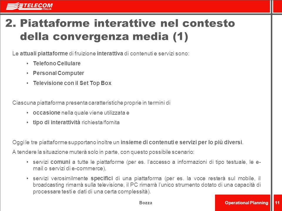 2. Piattaforme interattive nel contesto della convergenza media (1)
