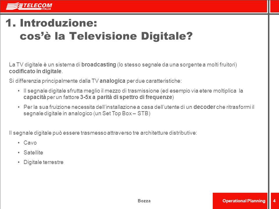 1. Introduzione: cos'è la Televisione Digitale