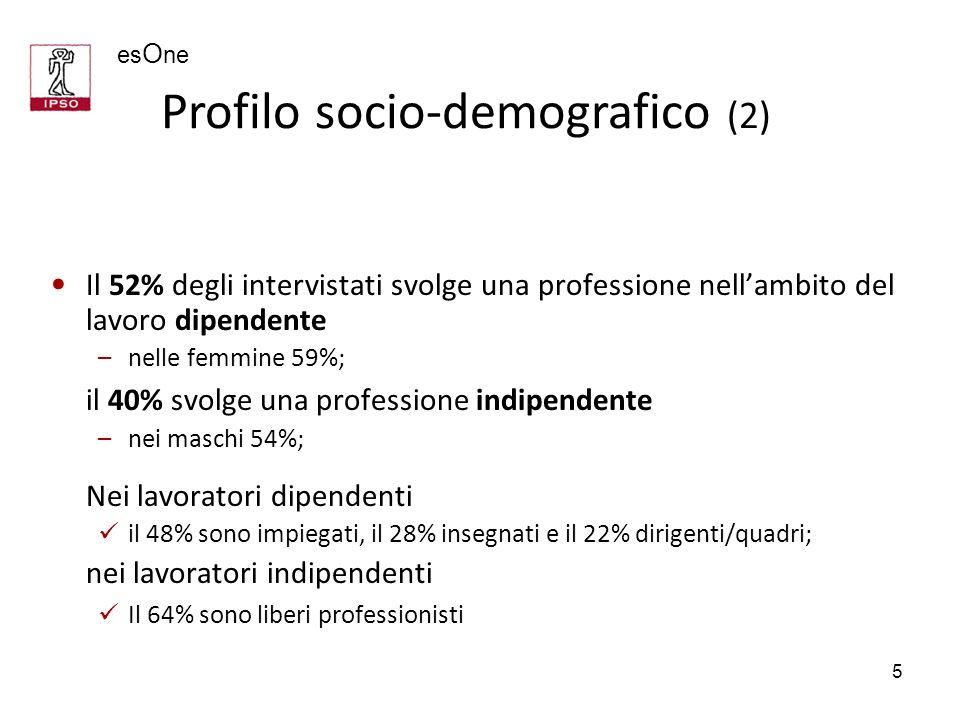Profilo socio-demografico (2)