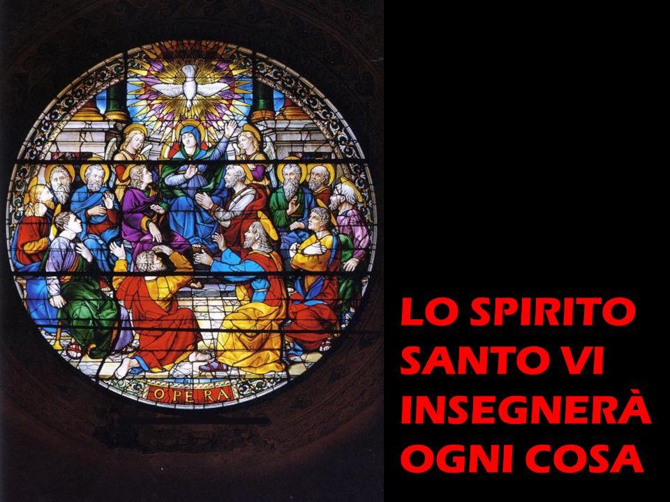 LO SPIRITO SANTO VI INSEGNERÀ OGNI COSA