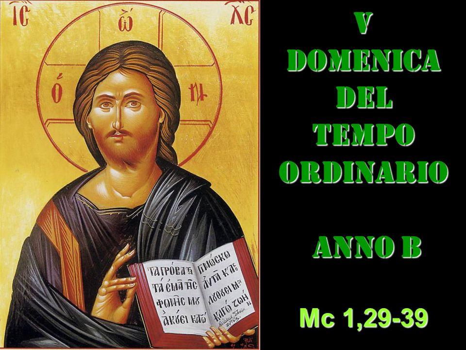 V DOMENICA DEL TEMPO ORDINARIO ANNO B