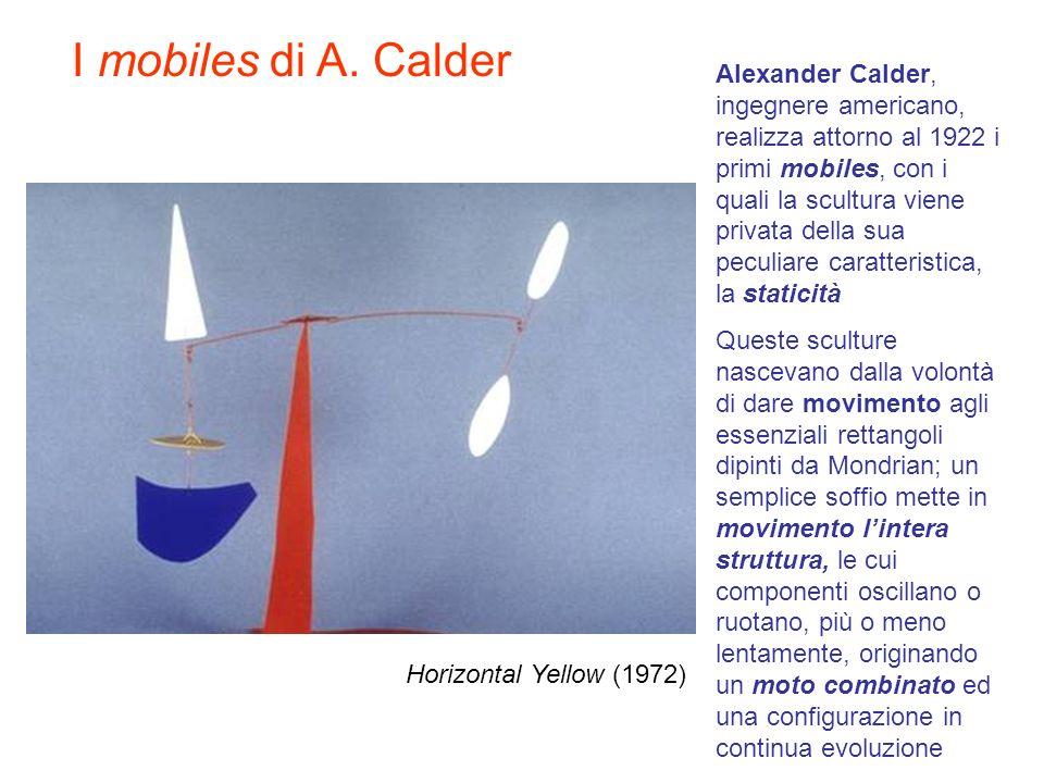 I mobiles di A. Calder