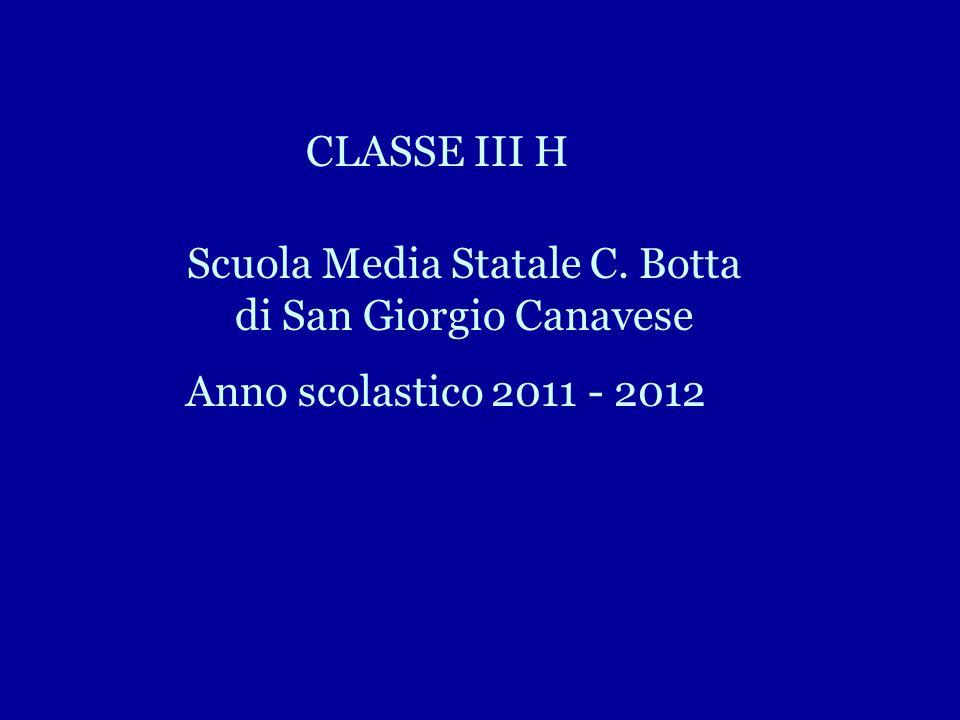 Scuola Media Statale C. Botta di San Giorgio Canavese
