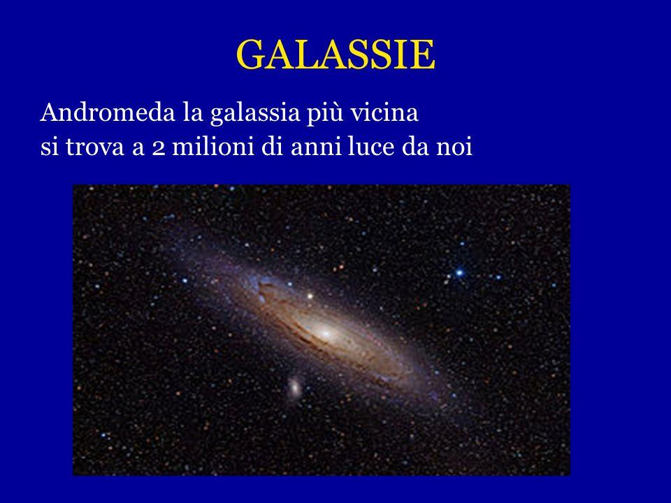 GALASSIE Andromeda la galassia più vicina