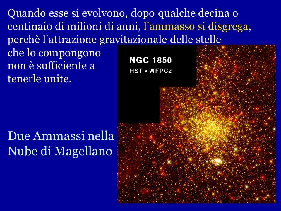 Due Ammassi nella Nube di Magellano