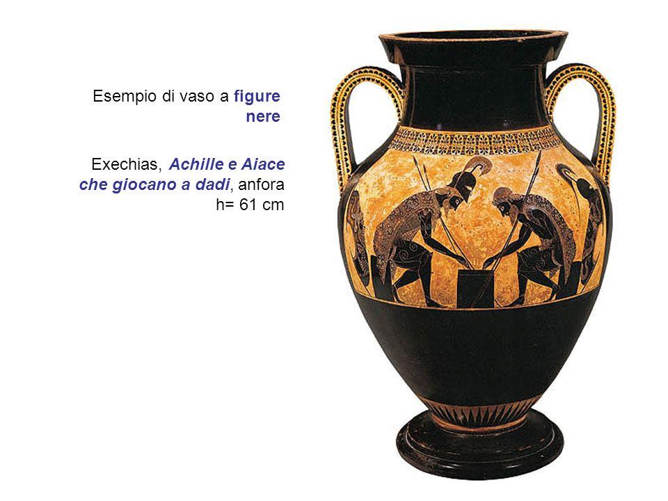 Esempio di vaso a figure nere