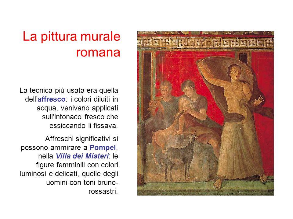 La pittura murale romana