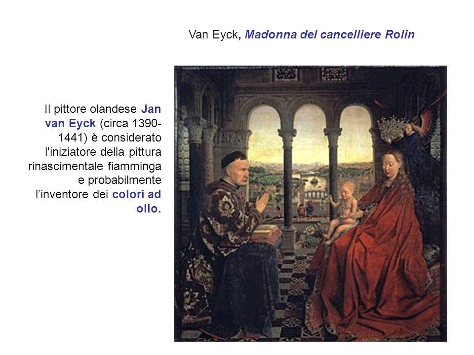 Van Eyck, Madonna del cancelliere Rolin