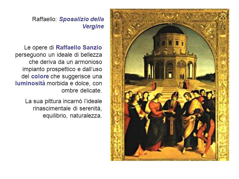 Raffaello: Sposalizio della Vergine