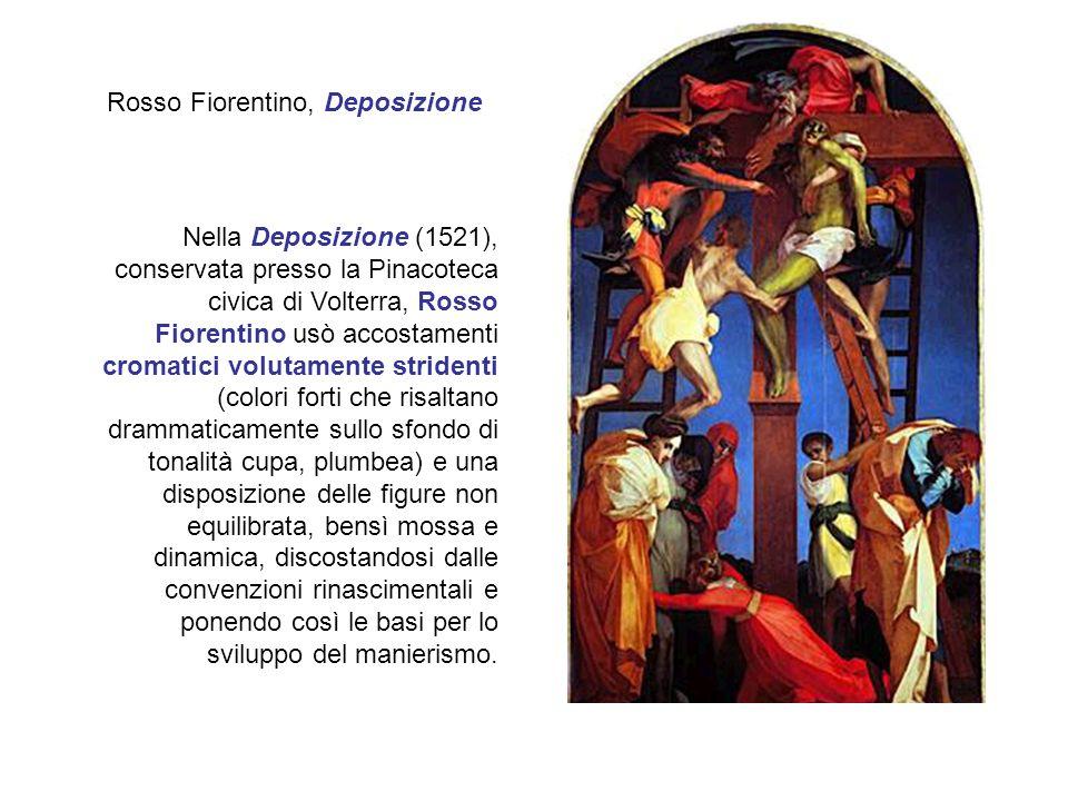 Rosso Fiorentino, Deposizione