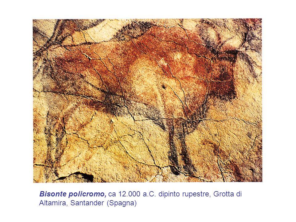 Bisonte policromo, ca 12. 000 a. C