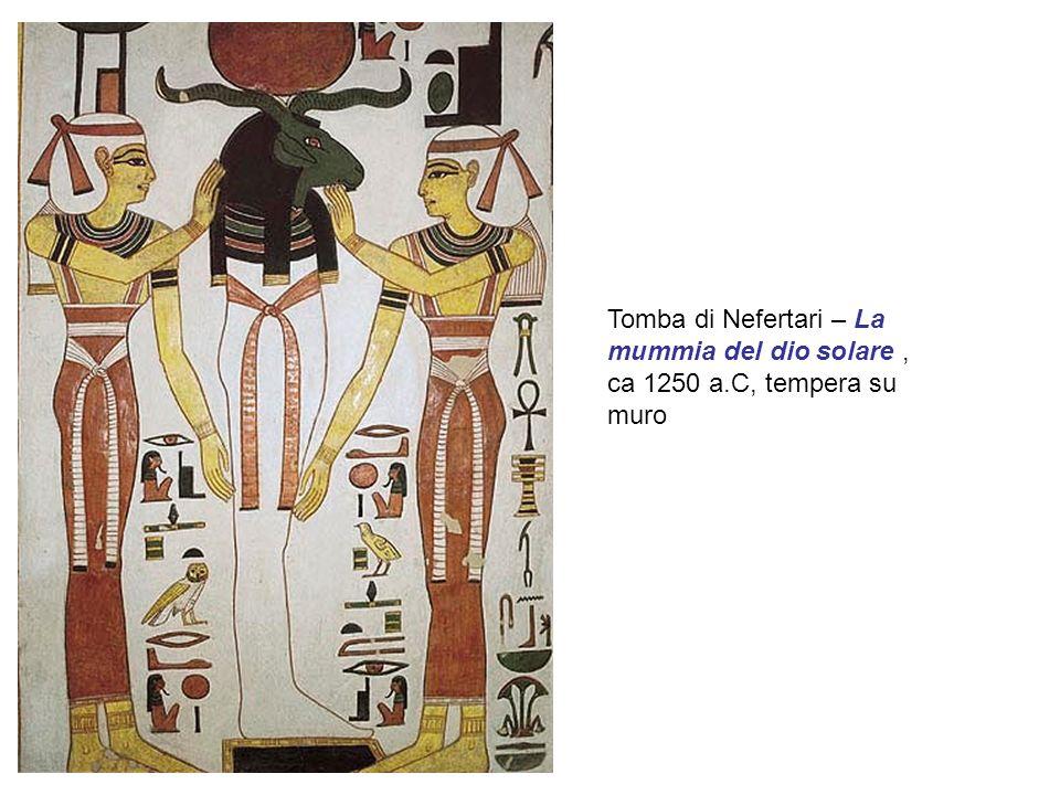 Tomba di Nefertari – La mummia del dio solare , ca 1250 a
