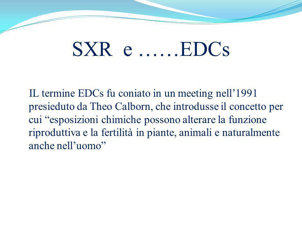 SXR e ……EDCs