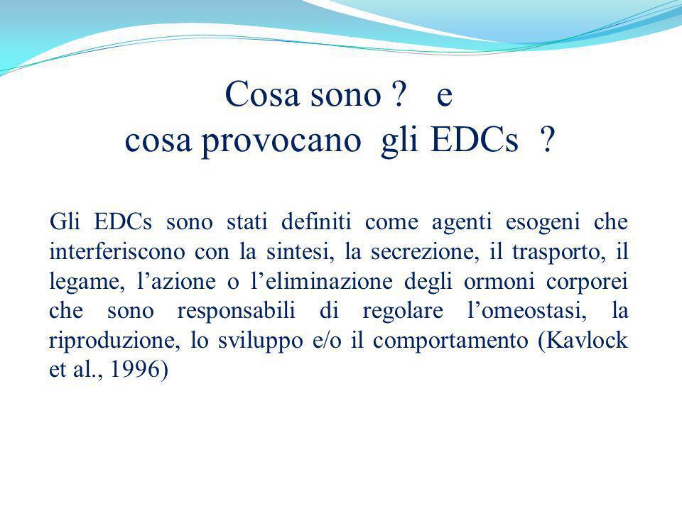 Cosa sono e cosa provocano gli EDCs