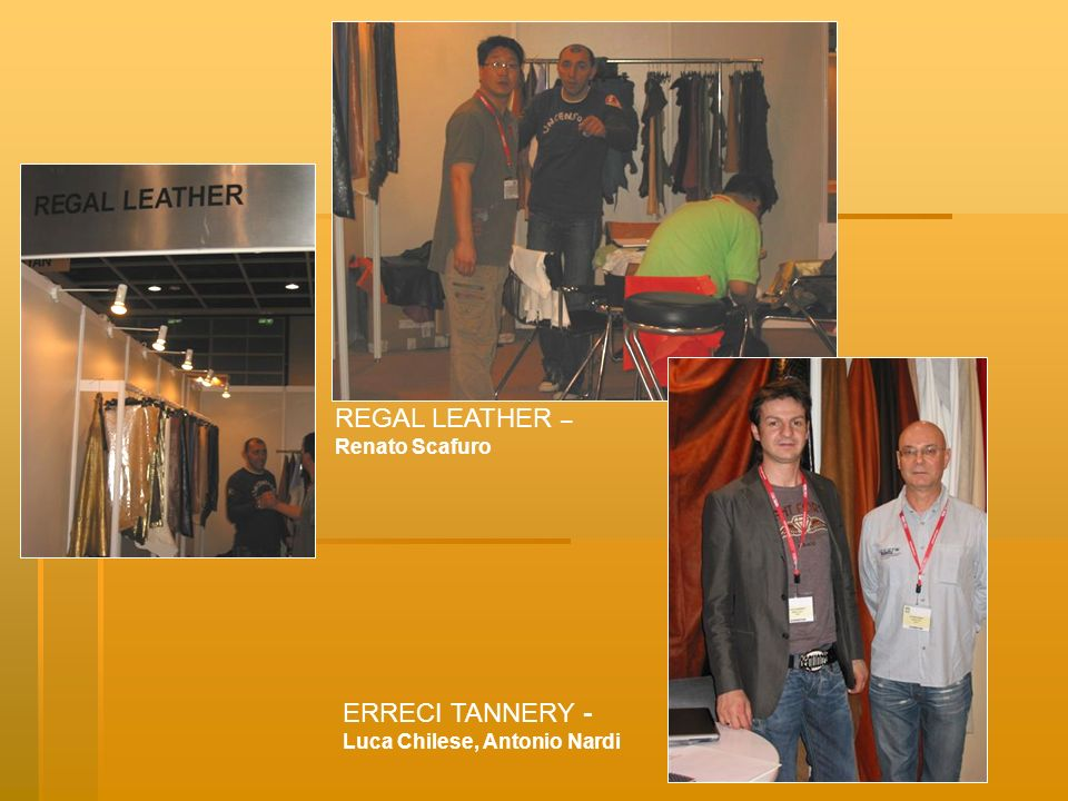 REGAL LEATHER – ERRECI TANNERY - Renato Scafuro