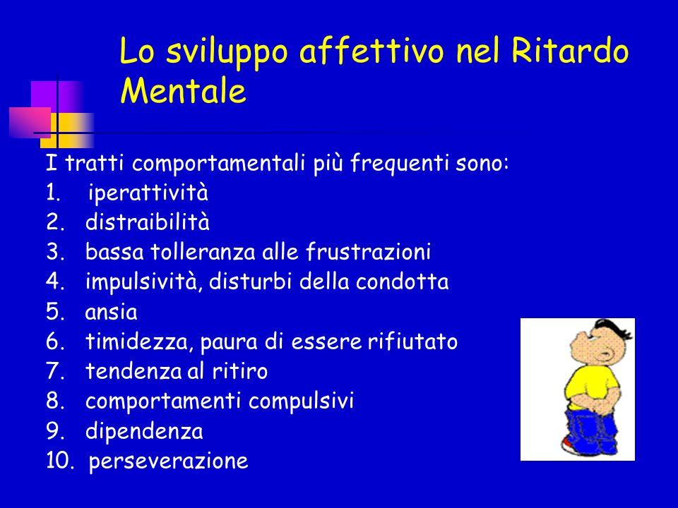Lo sviluppo affettivo nel Ritardo Mentale