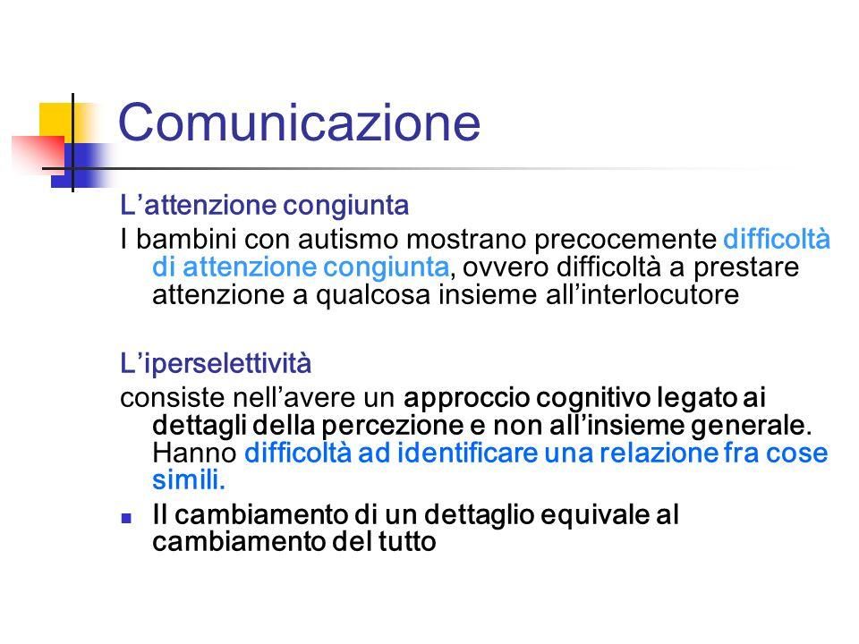 Comunicazione L'attenzione congiunta