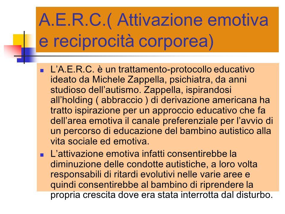 A.E.R.C.( Attivazione emotiva e reciprocità corporea)