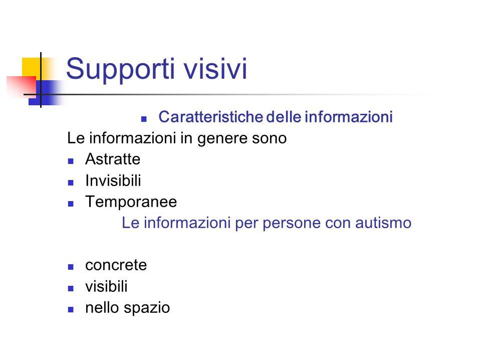 Caratteristiche delle informazioni