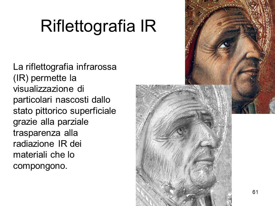 Riflettografia IR
