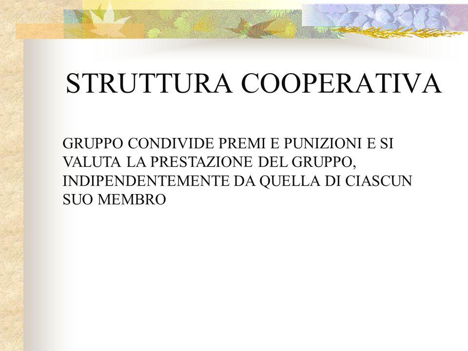 STRUTTURA COOPERATIVA