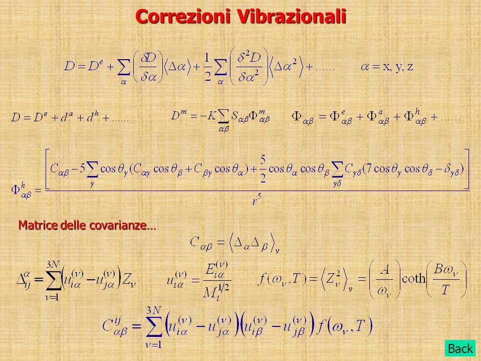 Correzioni Vibrazionali