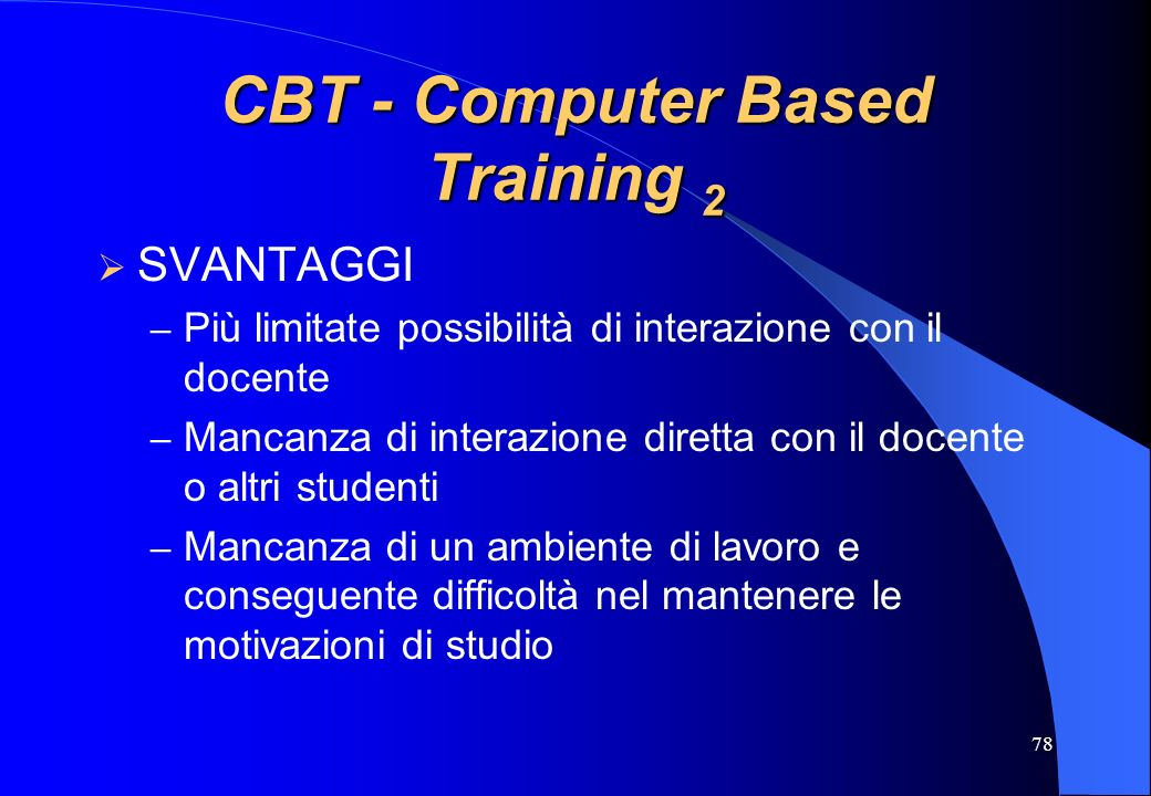 CBT - Computer Based Training 2