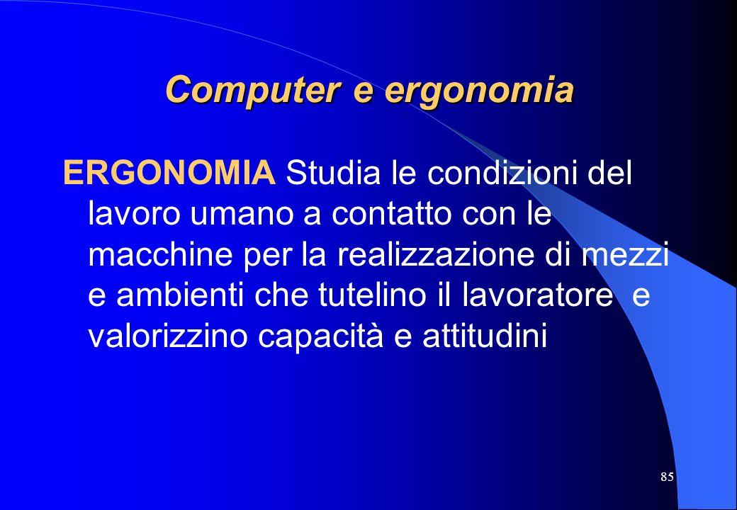 Computer e ergonomia