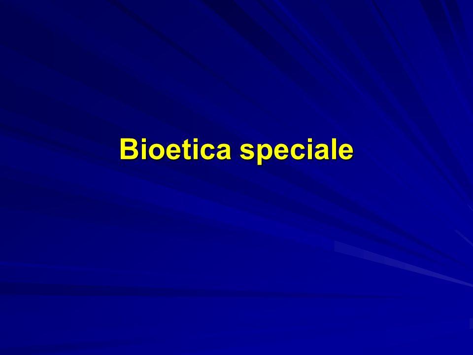 Bioetica speciale