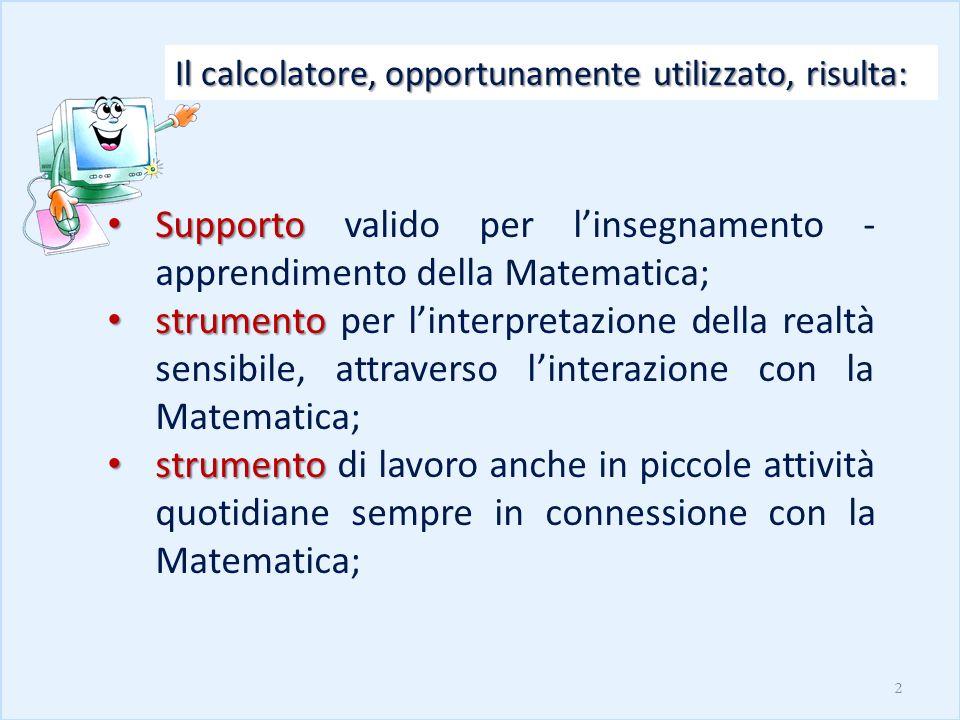 Supporto valido per l'insegnamento -apprendimento della Matematica;