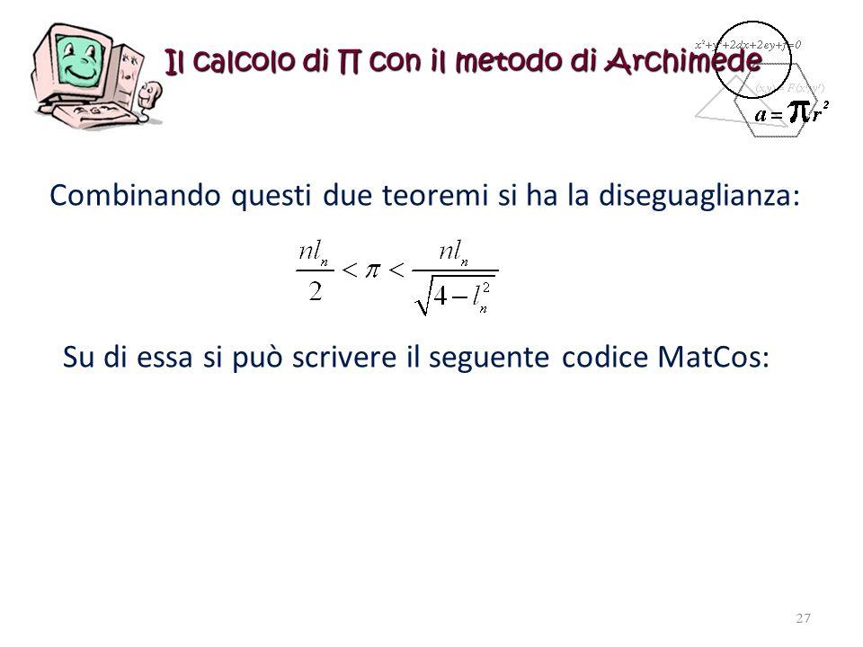 Il calcolo di ∏ con il metodo di Archimede