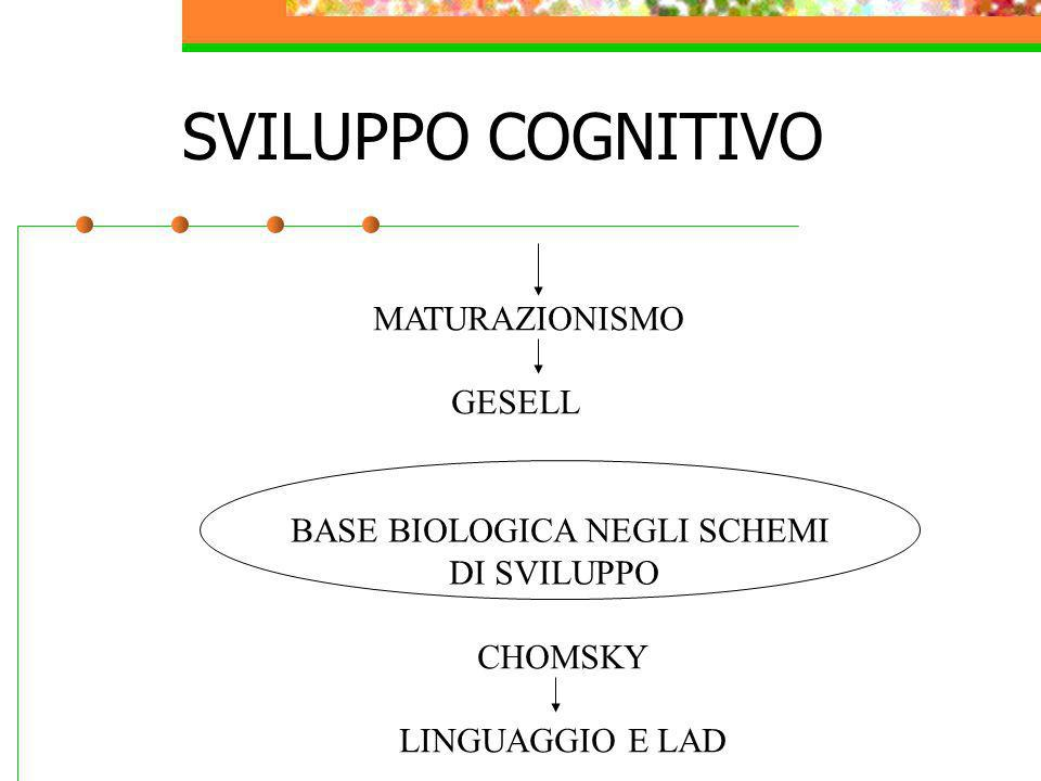 BASE BIOLOGICA NEGLI SCHEMI