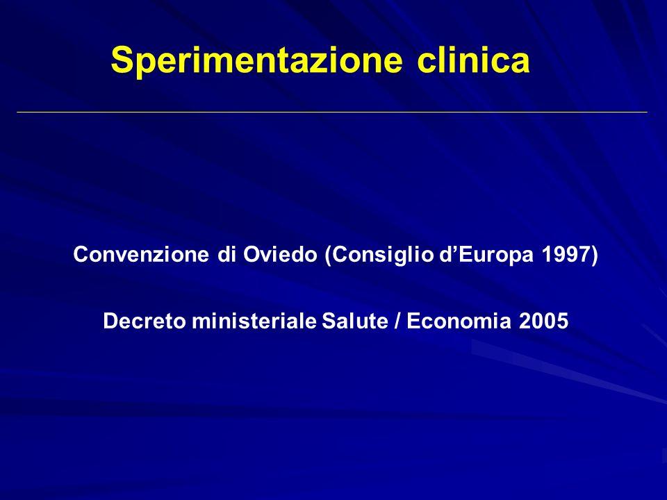 Sperimentazione clinica