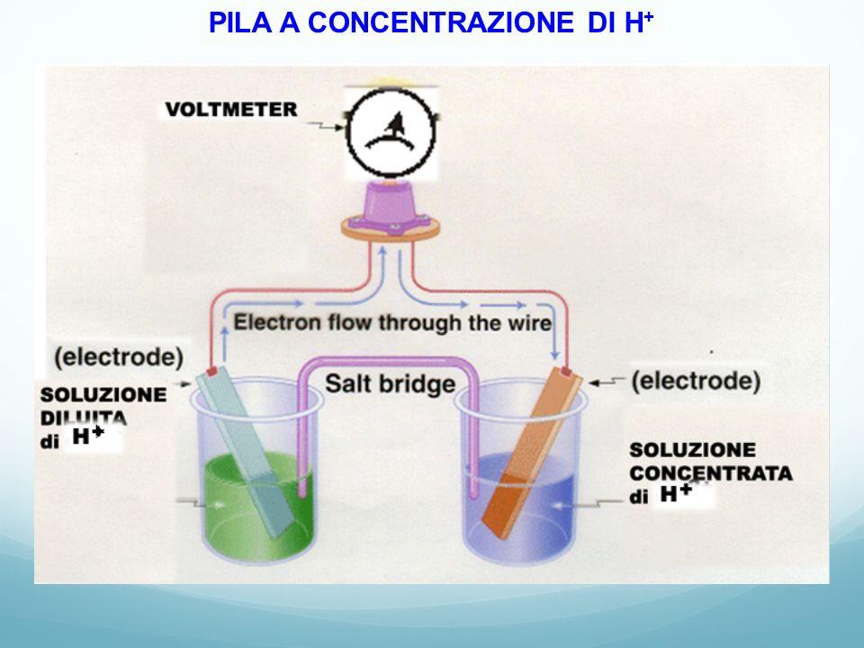 PILA A CONCENTRAZIONE DI H+