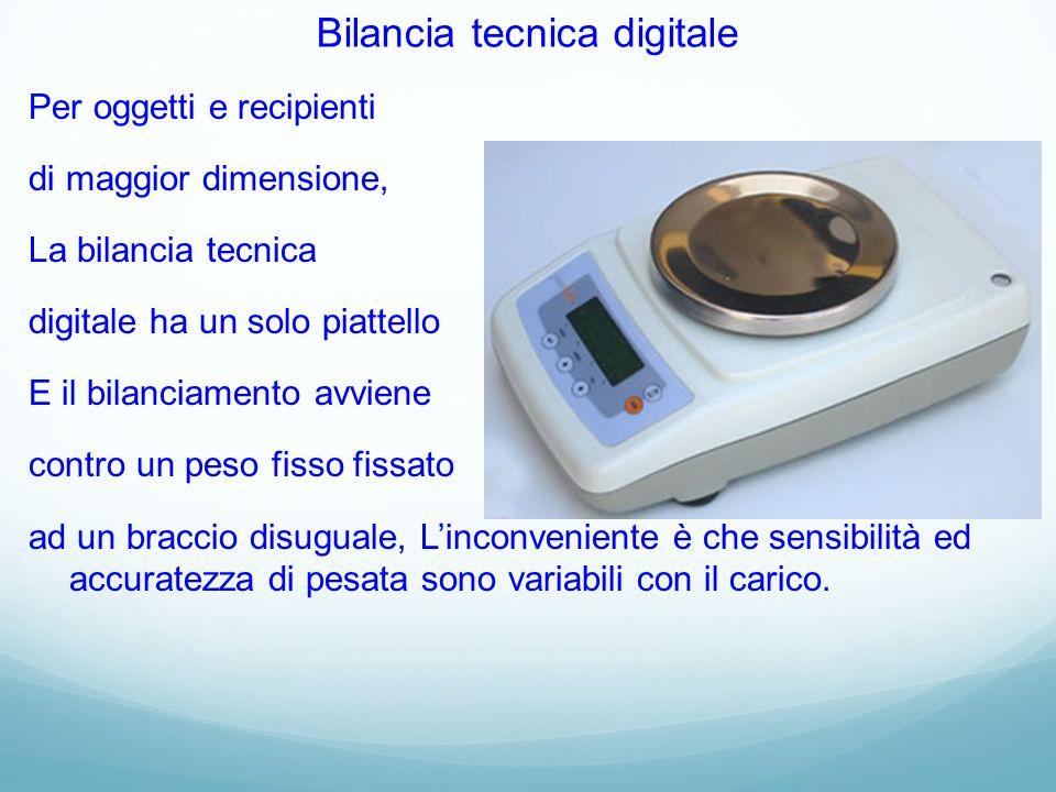 Bilancia tecnica digitale