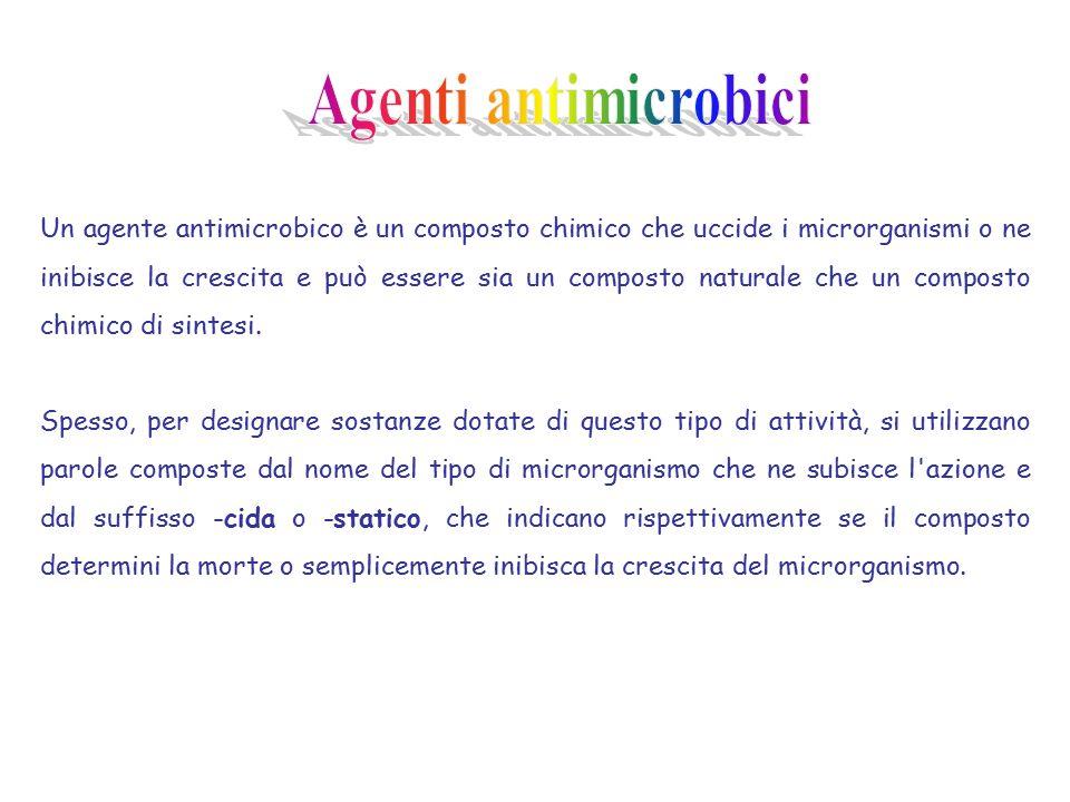 Agenti antimicrobici