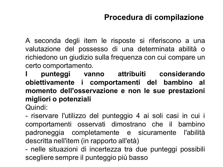 Procedura di compilazione