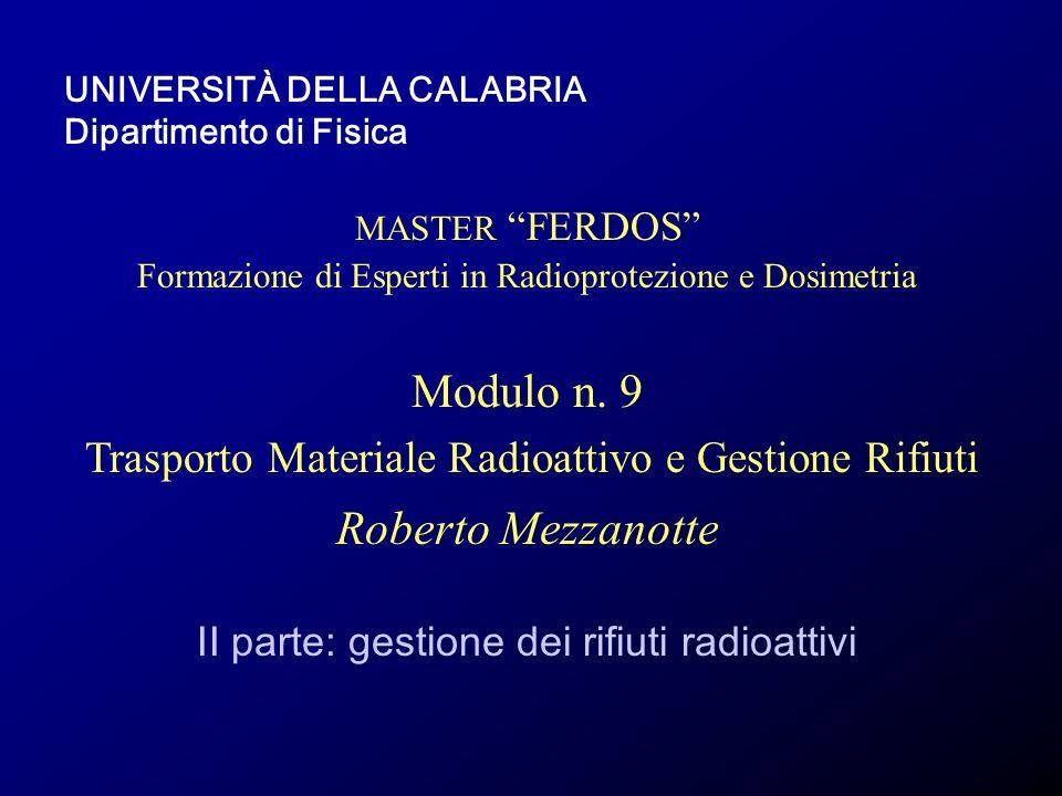 Modulo n. 9 Roberto Mezzanotte