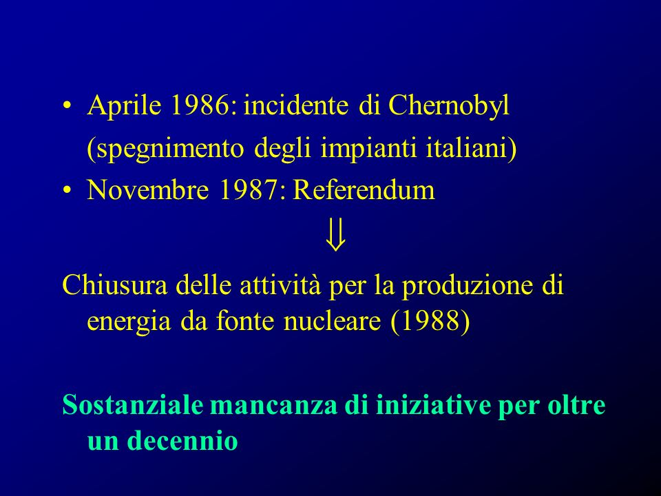  Aprile 1986: incidente di Chernobyl