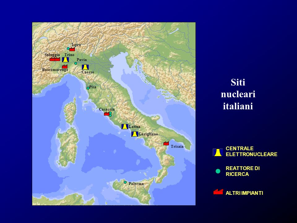 Siti nucleari italiani