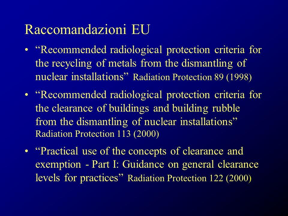 Raccomandazioni EU