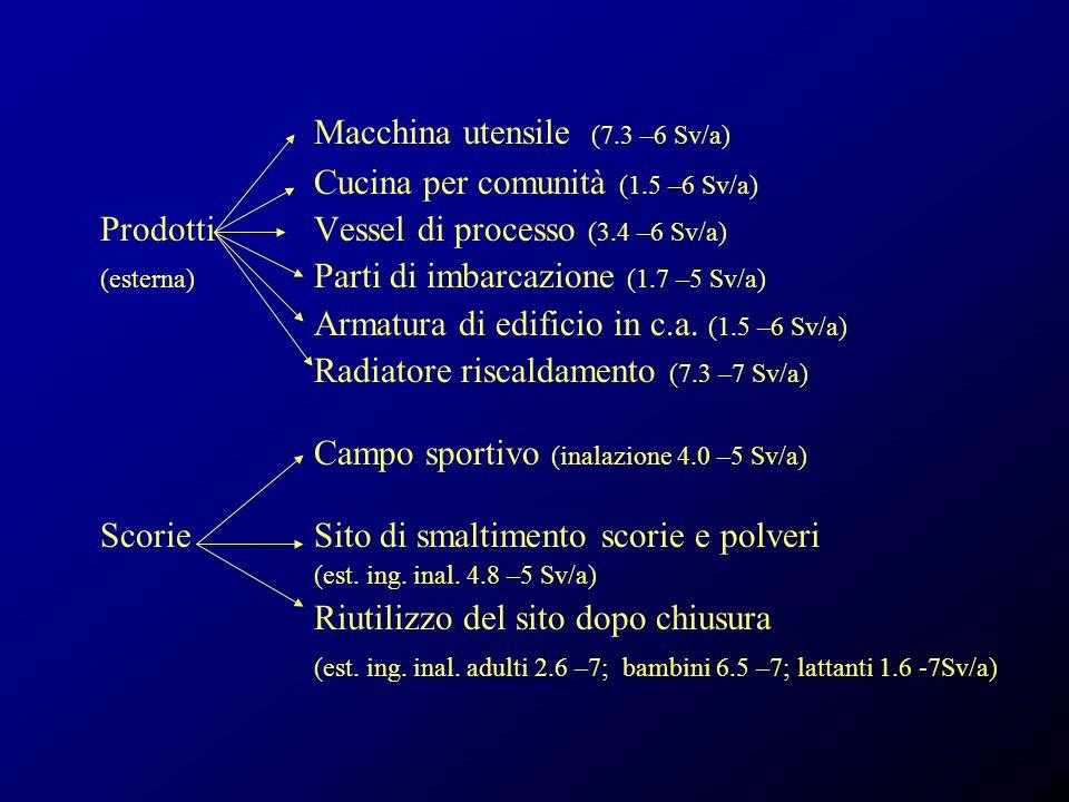Macchina utensile (7.3 –6 Sv/a)