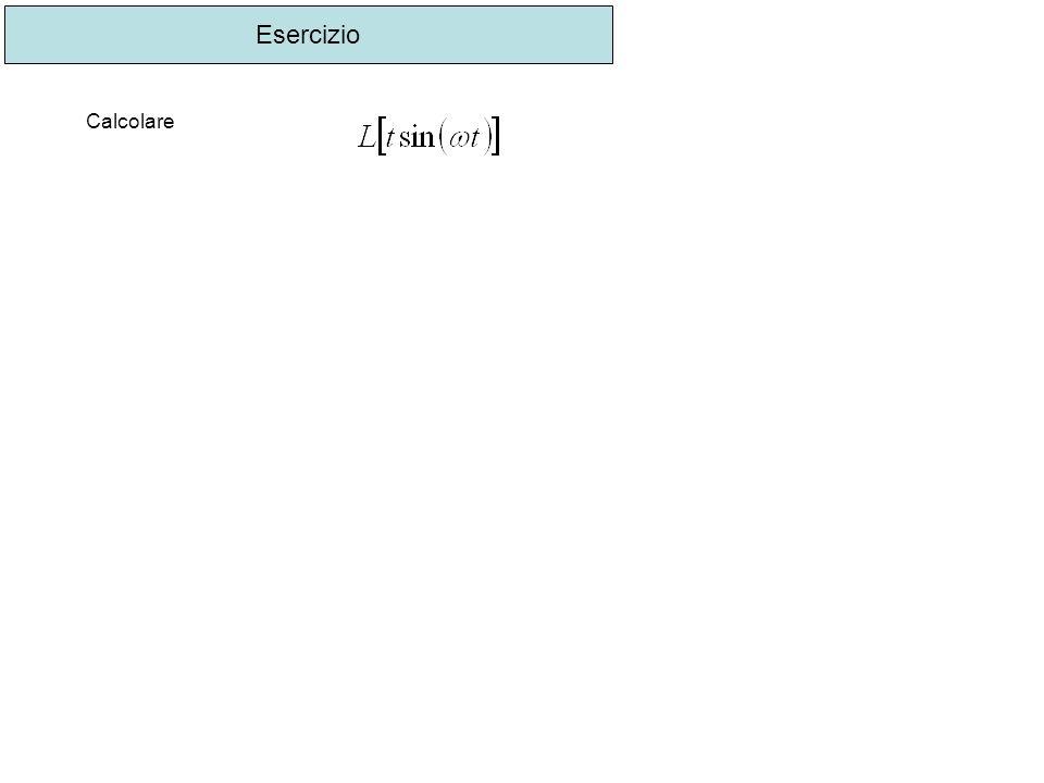 Esercizio Calcolare