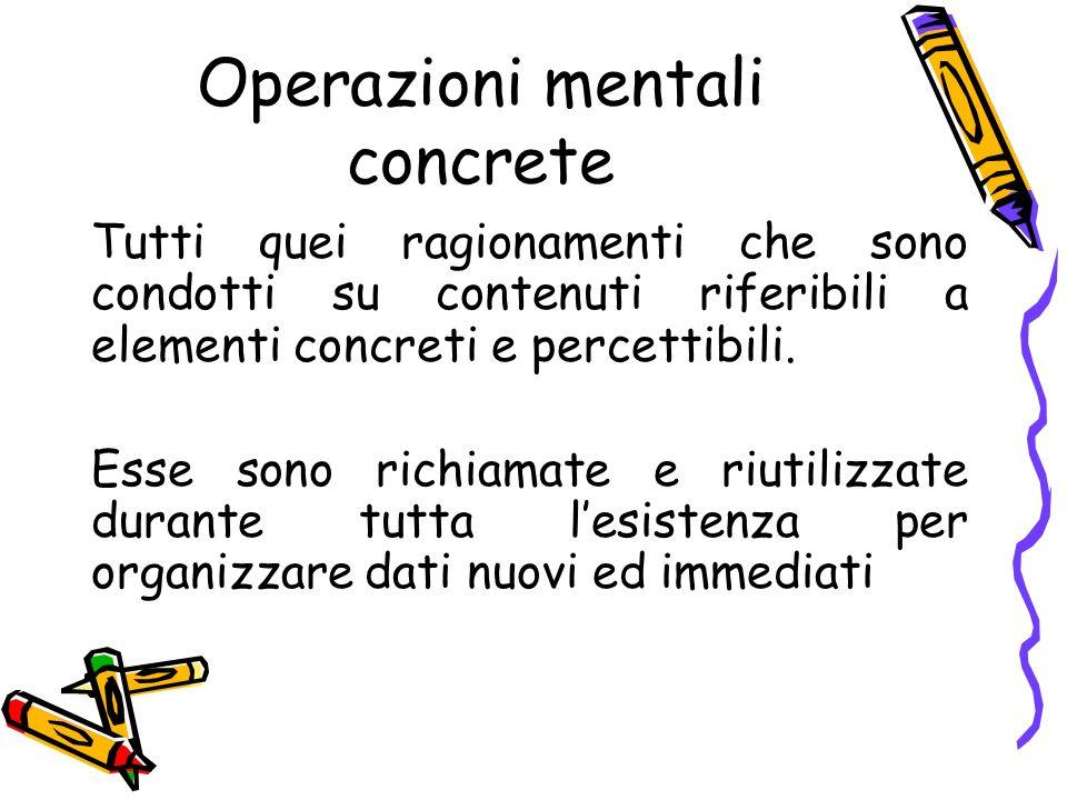 Operazioni mentali concrete