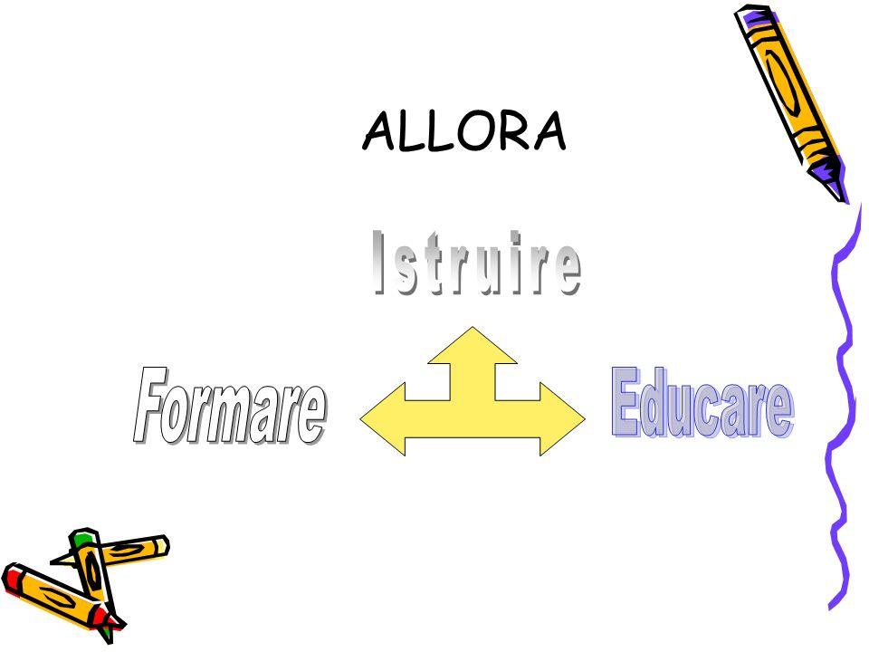 ALLORA Istruire Formare Educare