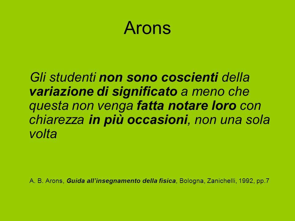 Arons