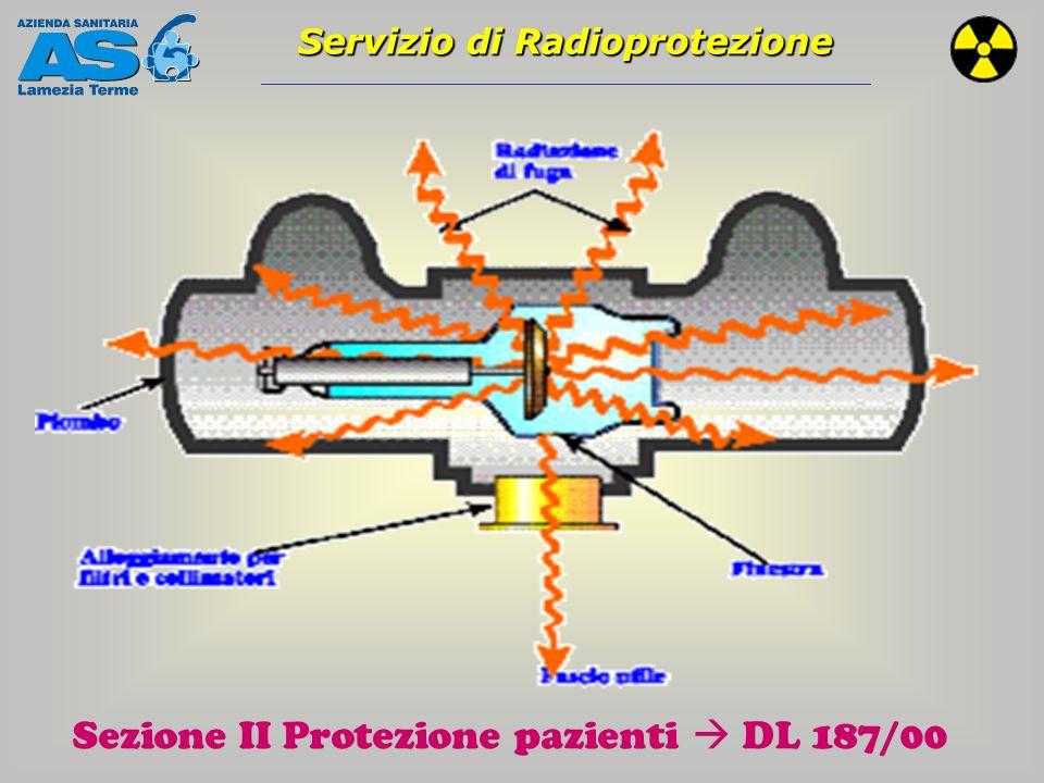 Sezione II Protezione pazienti  DL 187/00