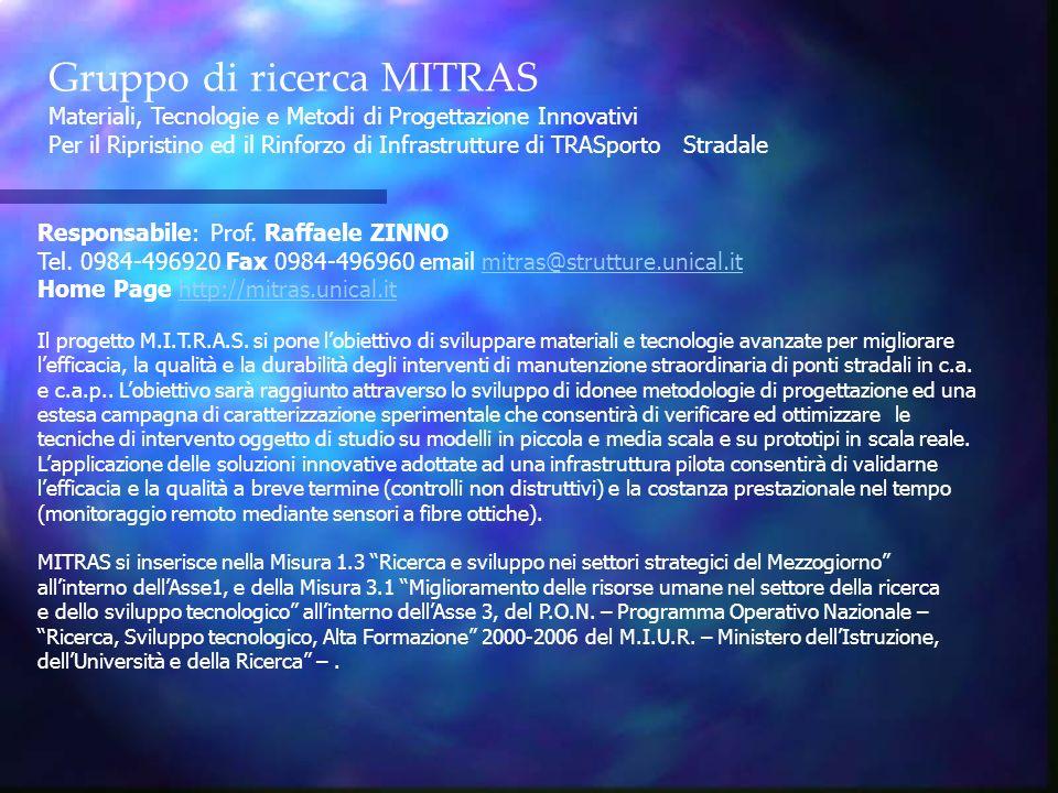 Gruppo di ricerca MITRAS