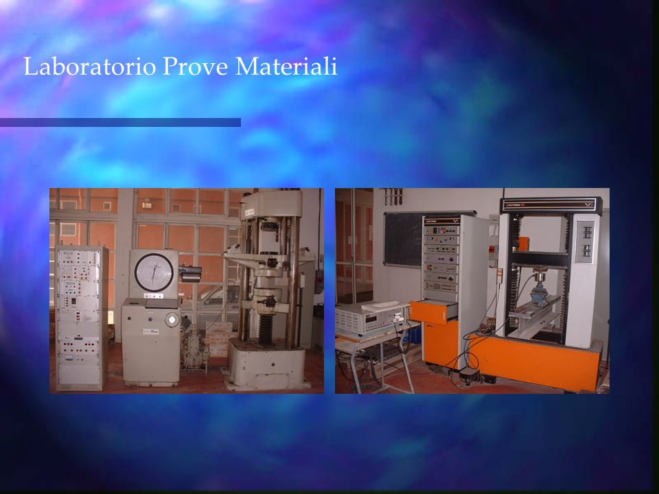 Laboratorio Prove Materiali